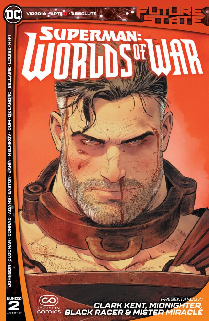 Future State 2021 Superman Worlds of War 002 000 666x1024 - Reseña de DC Future State: Superman - Worlds of War #2