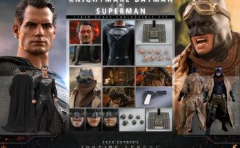 Figura Superman y Batman Knightmare