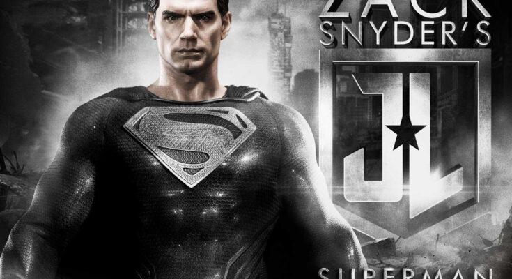 """Figura de Superman de la """"Liga de la Justicia de Zack Snyder"""""""