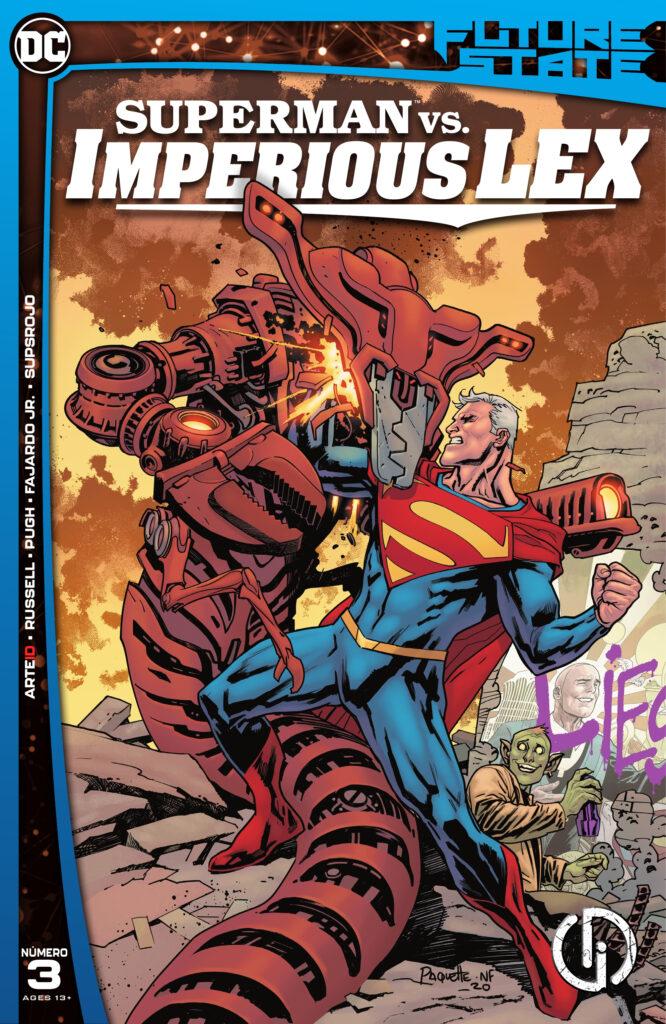 Future State 2021 Superman vs. Imperious Lex 003 000 666x1024 - Reseña de DC Future State: Superman vs. Imperious Lex #3