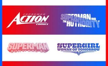 Nuevos logos para cómics de Superman