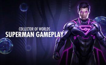 Superman Coleccionista Mundos Injustice 2