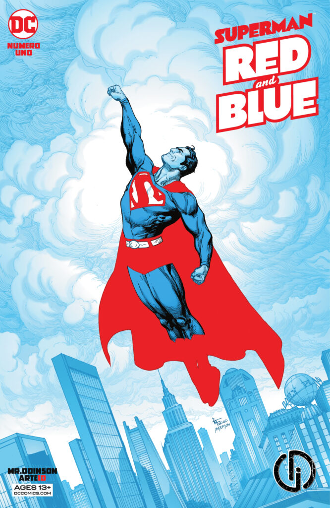 Superman Red Blue 2021 001 000 666x1024 - Reseña de Superman: Red & Blue #1