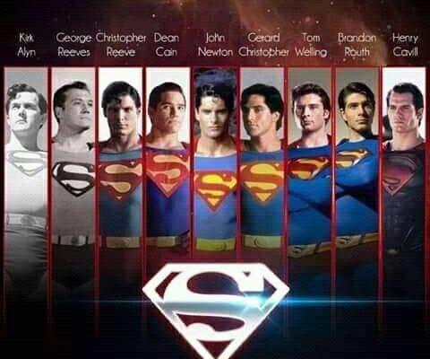 Superman en orden cronológico
