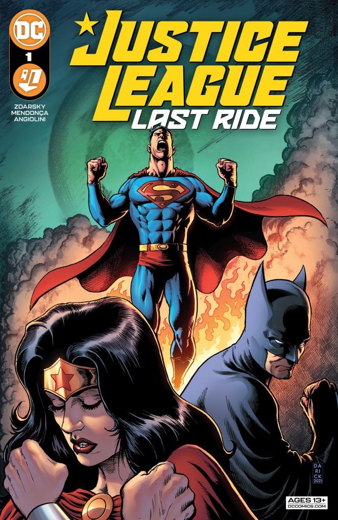 Justice League: Last Ride #1