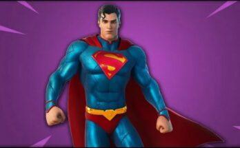 Superman Fortnite Séptima Temporada
