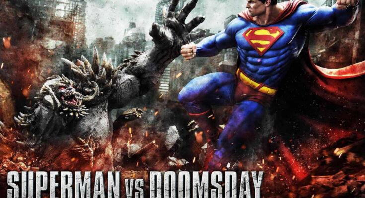 Figura Superman VS Doomsday de Prime 1 Studio