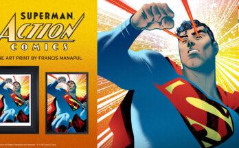 'Superman: Action Comics Fine Art Print'