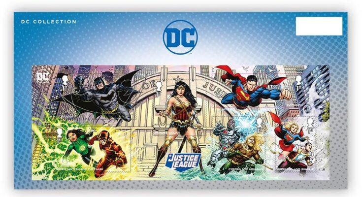 Colección de Royal Mail de sellos de DC Comics