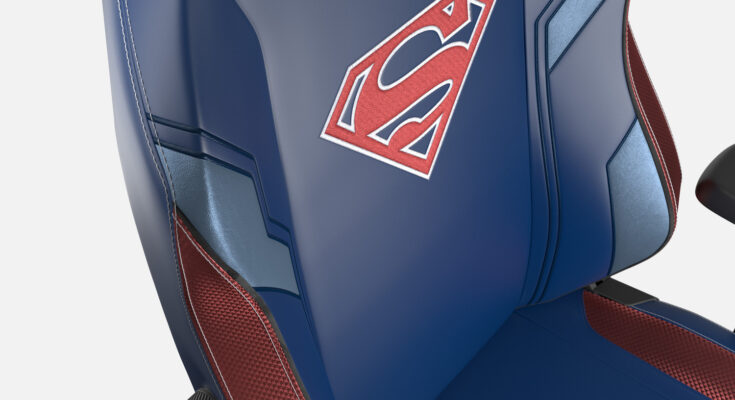 Sillas de Secretlab de Superman
