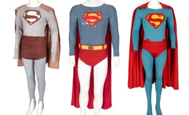 Subasta trajes antiguos de Superman