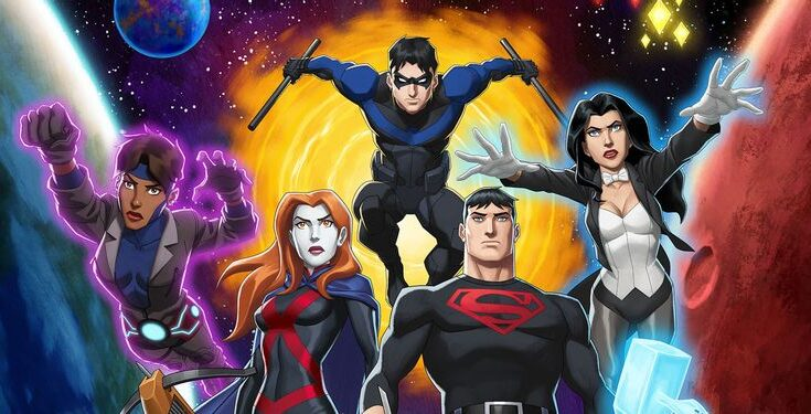 Póster Young Justice